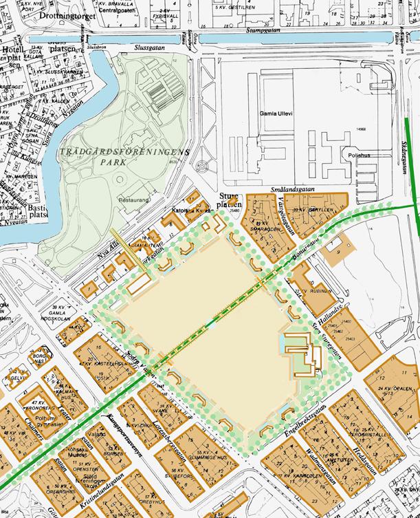 Heden Goteborg Karta.Gbgsgoc1 Gang O Cykelstrak Heden